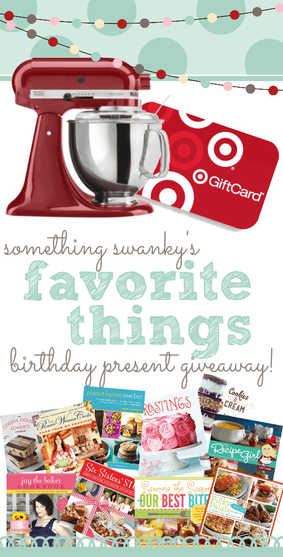 Something swanky Favorite things giveaway