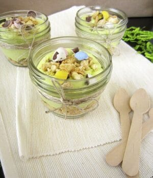 Easter Dirt Mousse Cups