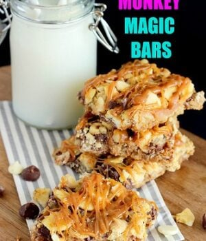 Chunky Monkey Magic Bars