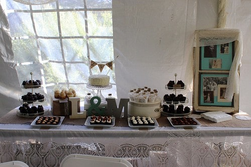 DIY Wedding cupcakes