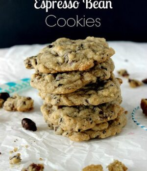 Chocolate Espresso Bean Cookies