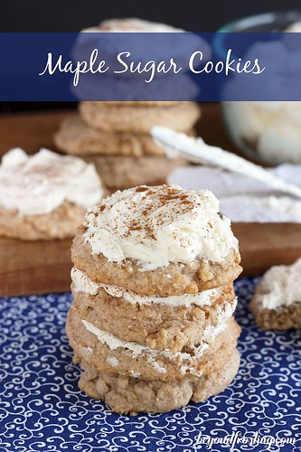 Maple Sugar Cookies | beyondfrosting.com | #maple #cookie #cookieexchange