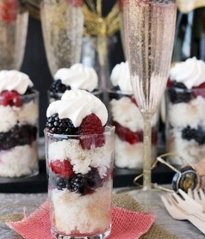Skinny Champagne Parfaits