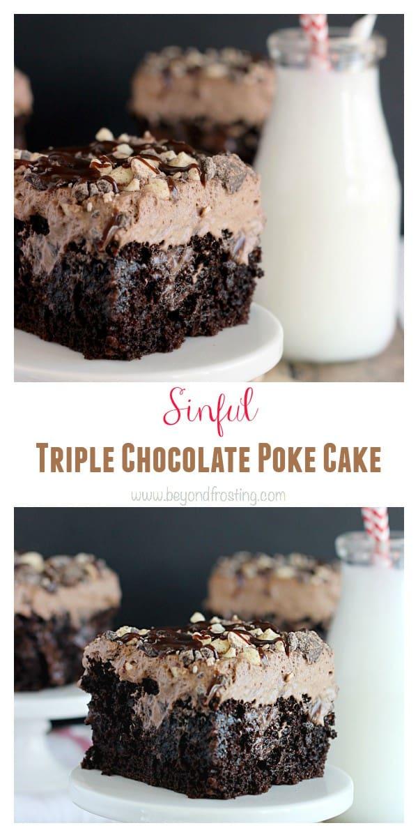 Call Me Cupcake Triple Chocolate Cake