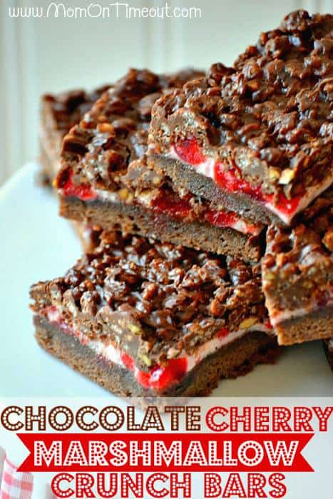 B25- Chocolate-Marshmallow-Cherry-Crunch-Bars