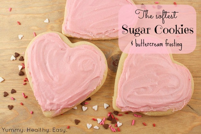 B38A- sugar cookie hearts