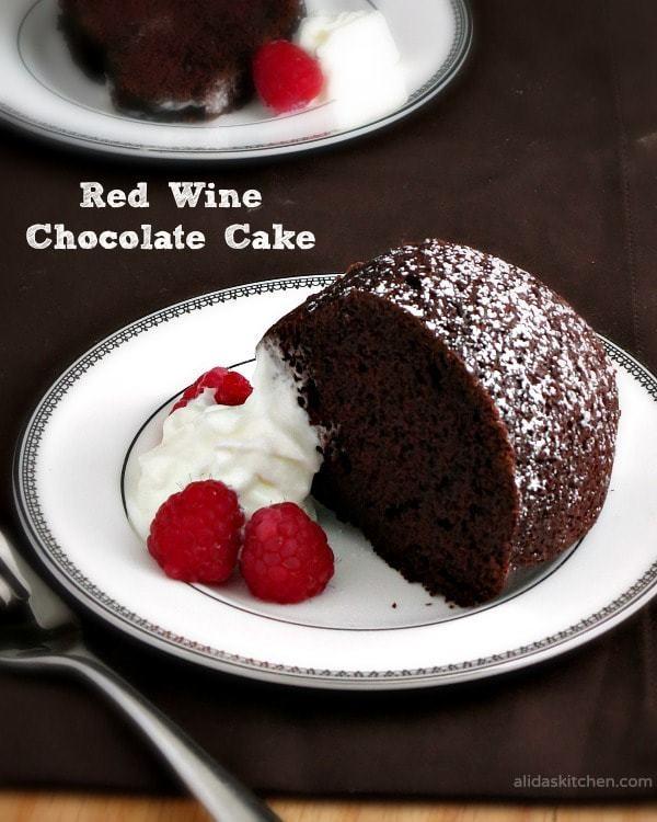 C19- RED WINE CAKE