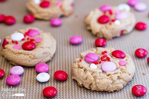 b18- pb mnm cookies