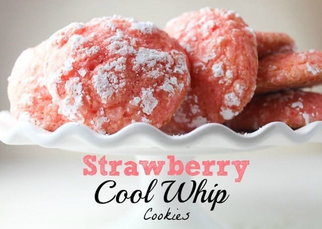 b33- strawberry cool whip cookies