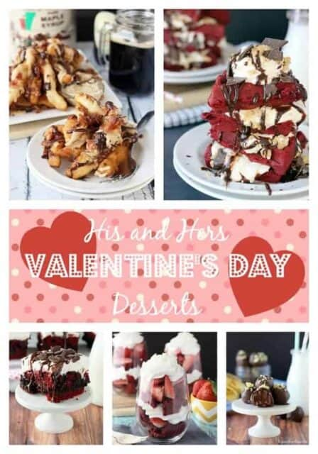 20 His and Hers Valentine's Day Desserts | beyondfrosting.com