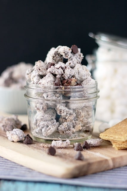 S'mores Rice Krispie Muddy Buddies