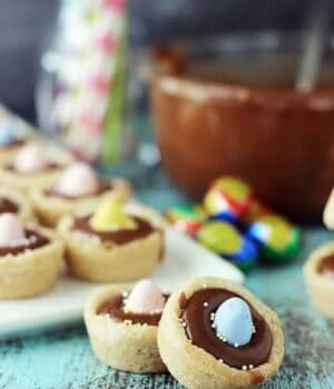 Cadbury Ganache Cookie Cups