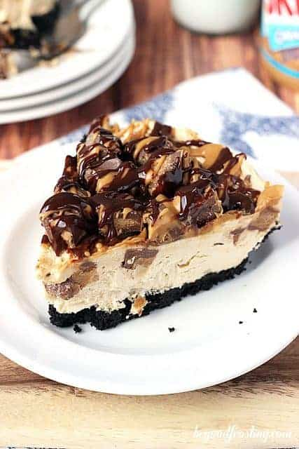 Ultimate Reese's Peanut Butter Cup Cheesecake | beyondfrosting.com