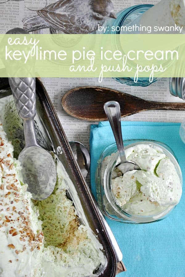 12- easy key lime ice cream