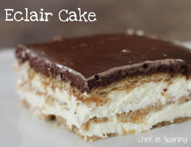 32- ECLAIRE CAKE