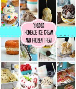 Over 100 Homemade Ice Cream and Frozen Treats