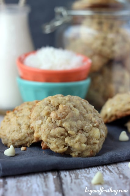 Photo of Coconut Cashew Oatmeal Cookies