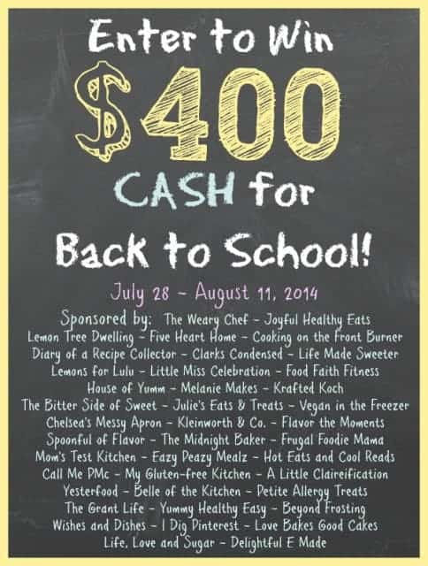 back to school giveaway 2014