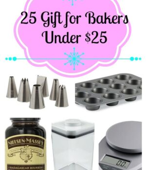25 Gifts for Baker's under $25