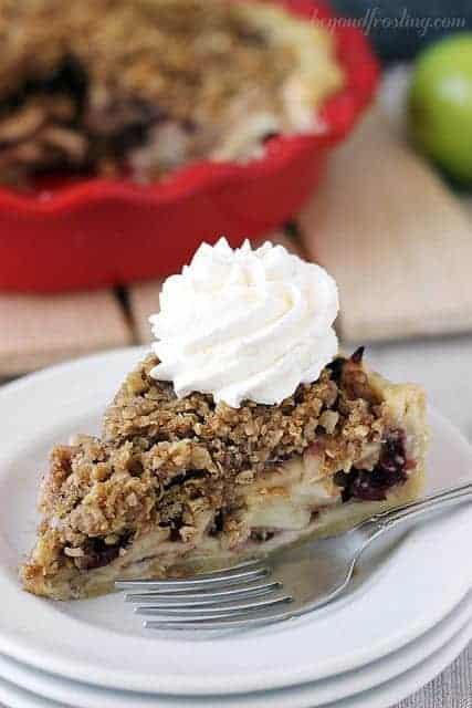 Cramberry apple pie