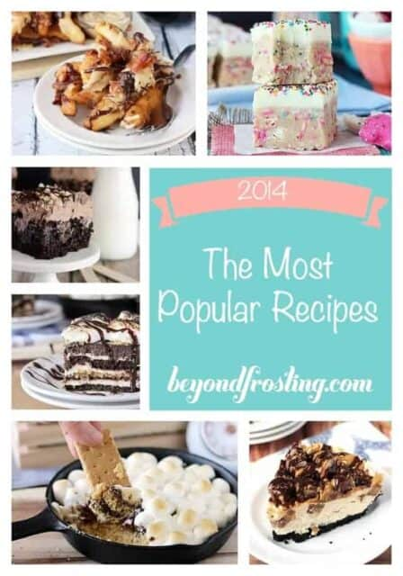 The most popular recipes from beyondfrosting.com