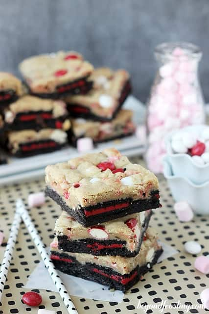 Double Peppermint Brookies