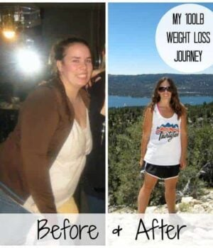 My 100lb weight loss journey
