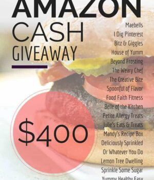 Spring Giveaway: $400 Amazon Cash