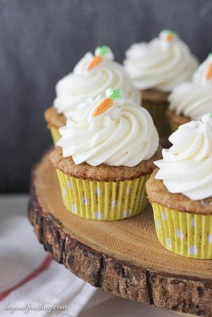 Best Ever Carrot Cake Cupcake