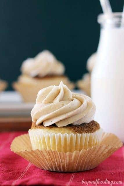 Spiced Cupcakes With Vanilla Buttercream Beyond Frosting