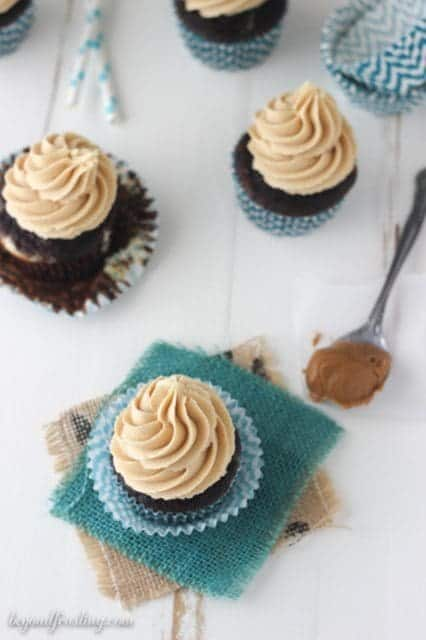 Biscoff Cream Cheese Cupcakes