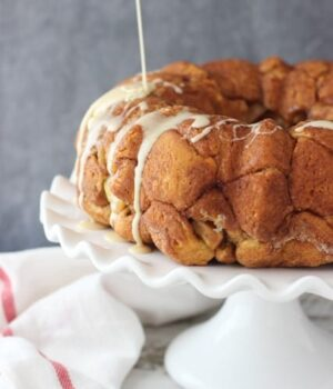 Maple Apple Pie Pull Apart Bread