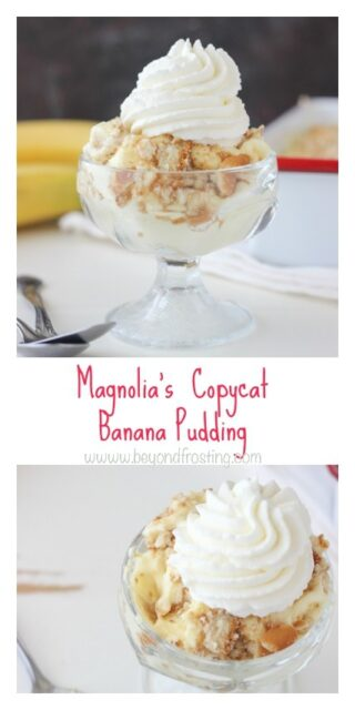 Magnolia Bakery Banana Pudding photo collage