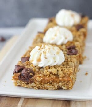 Caramel Pumpkin Pie Bars