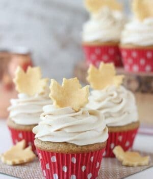 Spiced Cupcakes with Vanilla Buttercream
