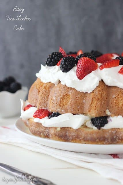 Tres Leches Cake Beyond Frosting