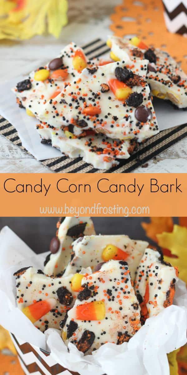 Candy corn bark_collage