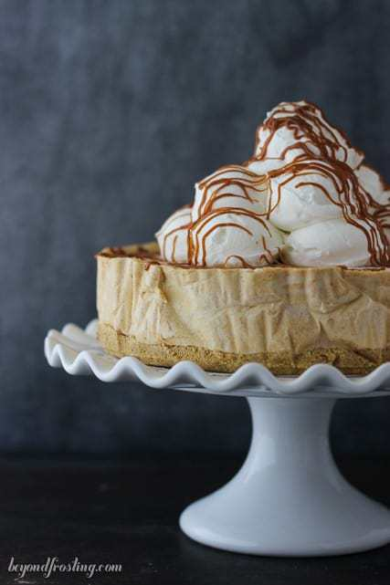 No-Bake Pumpkin Caramel Ice Cream Cake. This Pumpkin Caramel Ice Cream Pie is a great make-ahead dessert and a tasty alternative to your traditional pumpkin pie.