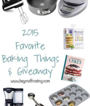 2015 Favorite Baking Things Giveaway