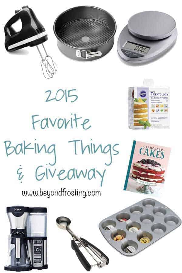 Baking Appliances For the Giveaway