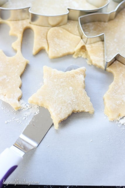 How to make sugar cookies. This tutorial answers all your questions about making the perfect sugar cookies from how to measure the flour, to how thick to make the dough