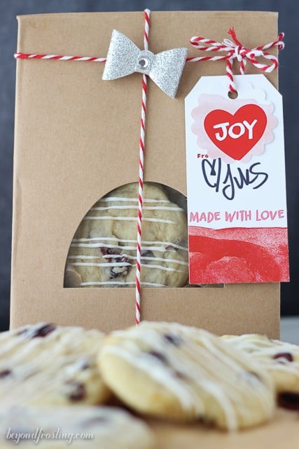 Cute cookie exchange packaging!