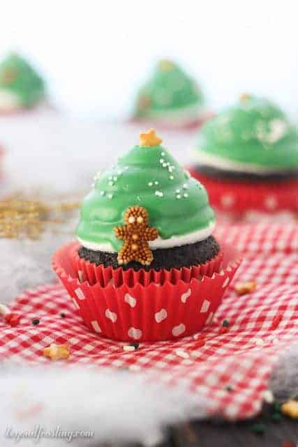 Christmas Tree Cupcakes Recipes