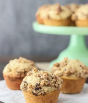 Sky-high Maple Pecan Banana Muffins. This recipe to simple and results in a bakery style banana muffin.