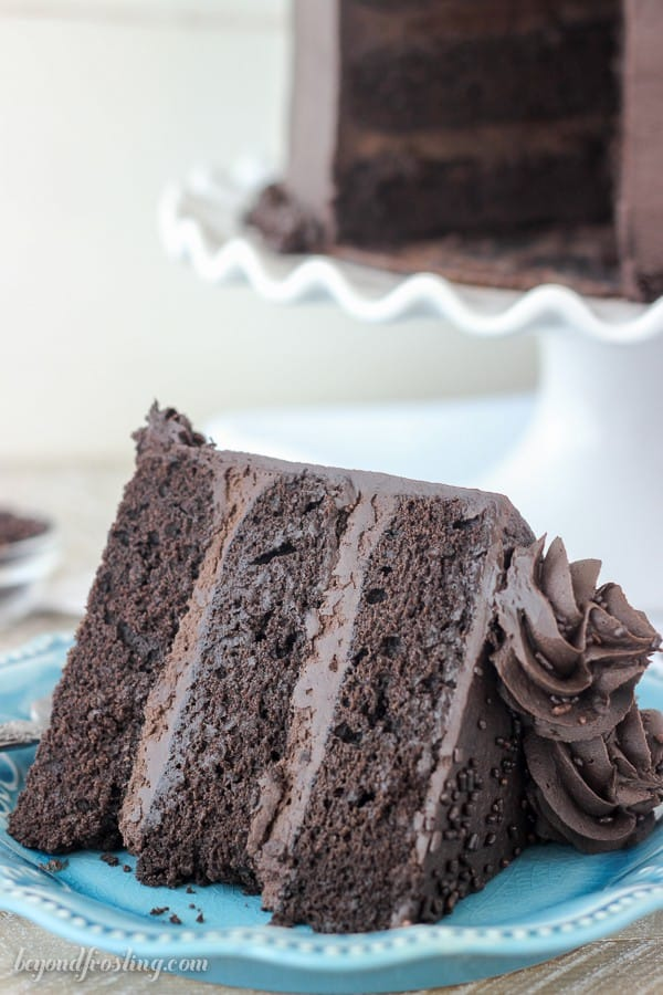 Make sure you have a big glass of milk with this rich Chocolate Stout Cake.