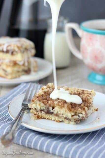 Classic Sour Cream Coffee Cake & Ninja Coffee Bar Review ...