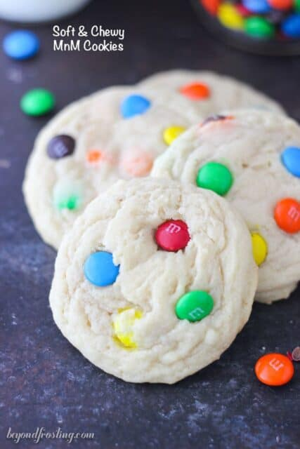 You can't go wrong with this recipe for Soft and Chewy MnM cookies. Find out how to make the PERFECT cookie.