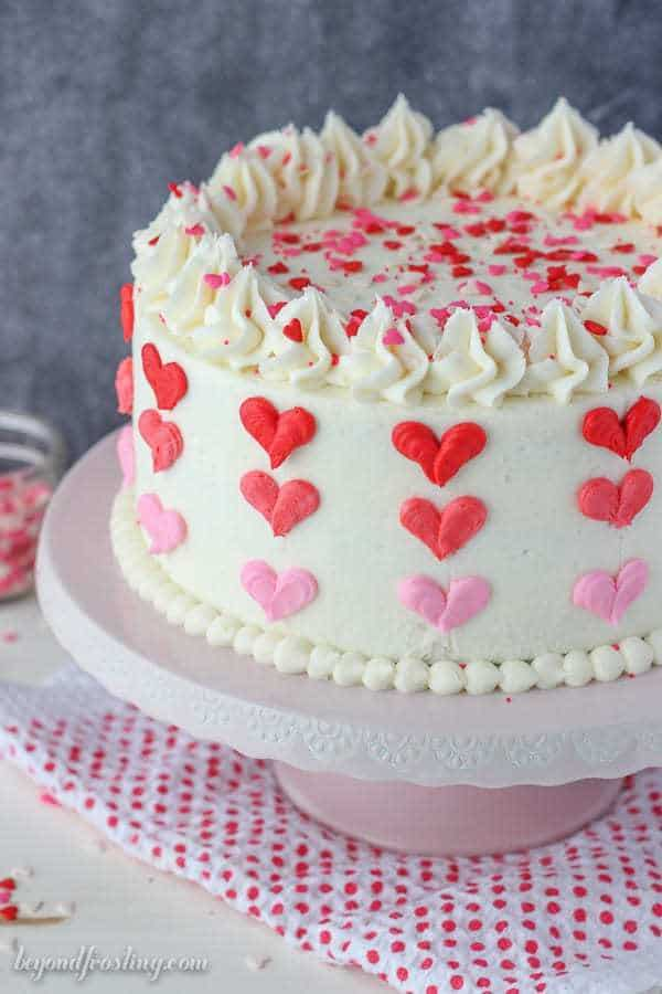 Valentines Chocolate Heart Cake Recipe