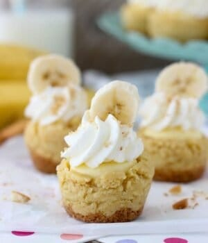 Banana Cream Pie Cookie Cups