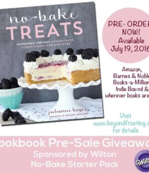 Beyond Frosting Cookbook: No-Bake Treats Pre-Sale Announcement